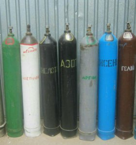 Технические газы (кислород, аргон, углекислота)