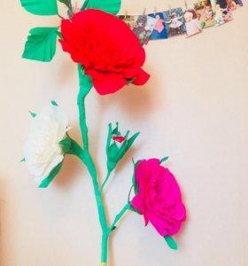 Декорации цветок