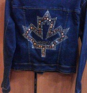 Джинсовая куртка 600 рублей