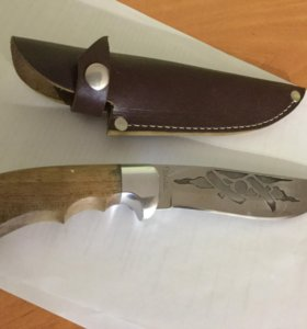 Нож охотничий в футляре