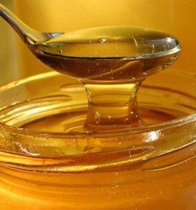 Натуральный мёд разнотравье