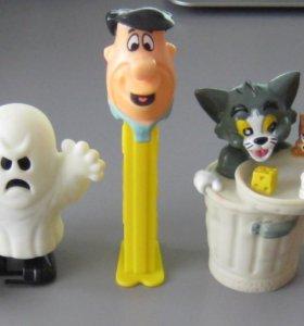 Игрушки фигурки мелкие 90-е гг