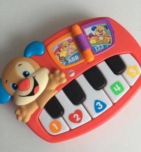 Пианино щенок Fisher Price