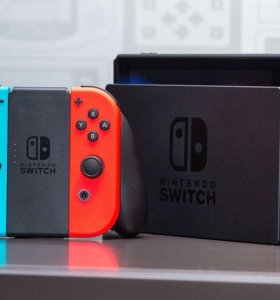 Nintendo Switch +zelda botw и mario odissey