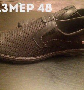 Мужские туфли(новые) 48 р-р