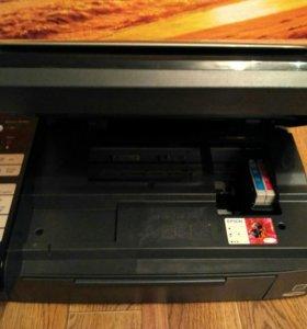 Принтер струйный МФУ Epson Stylus CX7300