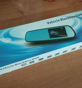 "Видеорегистратор зеркало Vehicle Blackbox DVR 4.3"""