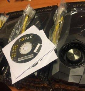 Видеокарты Zotac GeForce GTX 1080 8GB