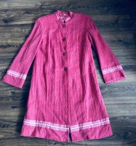 НОВЫЙ кардиган пальто и платье (комплект двойка)