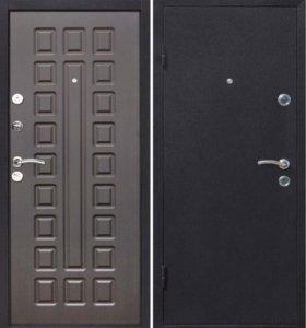 Входная дверь с установкой Наша Венге 8мм/100мм