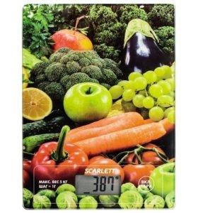 Весы кухонные Scarlett SC-KS57P1