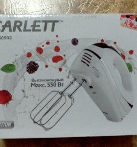 Миксер Scarlett SC-HM40S02 белый