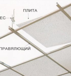 Подвесной потолок Армстронг (ARMSTRONG)