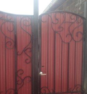 Изготовление ворот, оградок и многое другое!!!