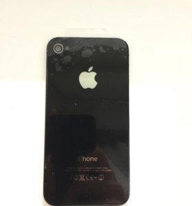 Крышка задняя на Apple Iphone 4/4S Новая