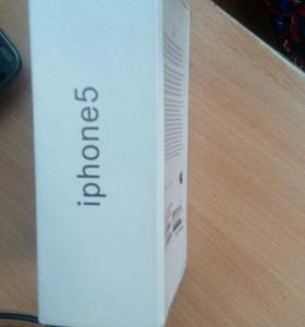 Коробка на айфон 5 на 32гб