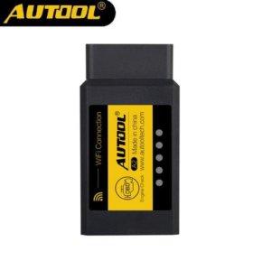 Автосканер Autool ELM 327 Wi-Fi для iOS и Android