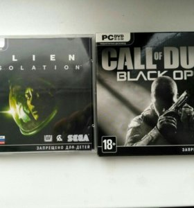 Alien isolation/Call of duty Black ops II лицензия