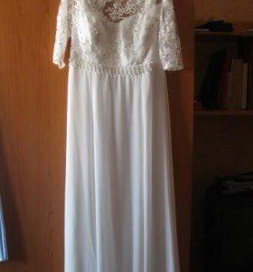 Платье свадебное 48-50