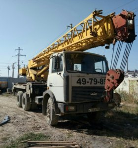 Автокран маз 25 - тонник