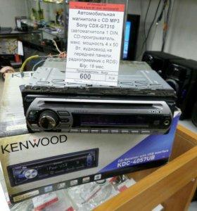 Автомагнитола MP3-CD Sony CDX-GT310