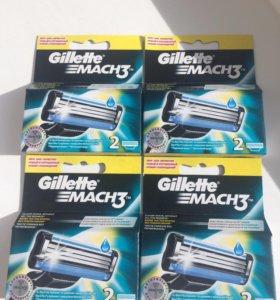 Кассеты Gillette Mach3 (8 шт.)