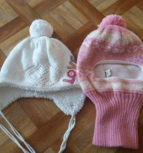 Продам шапочки для девочек.