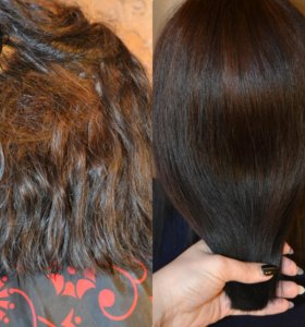 Нанопластика (выпрямление волос)