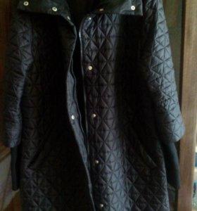 Пальто строченое