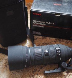 Sigma объектив для Canon