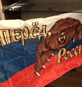 Флаг «Вперёд, Россия»