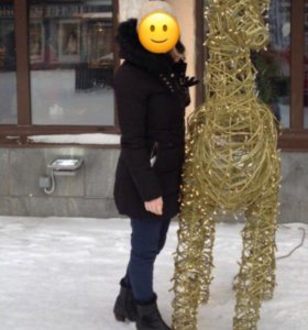 Пуховик зимний  Zara