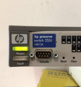 Б/у коммутатор HP Pro Curve Switch 2524