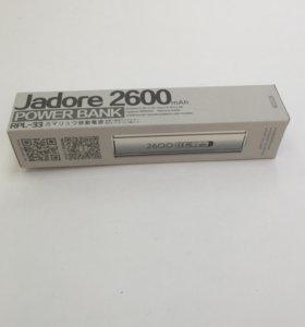 Аккумулятор дополнительный Remax Jadore 2600mAh