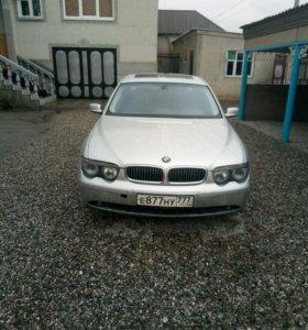 BMW 7 серия, 2002