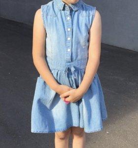 Джинсовое платье Reserved (104) 3-4 года