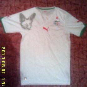 Футболка сборной Алжира, размер S.