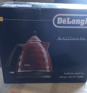 Чайник delonghi новый в упаковке
