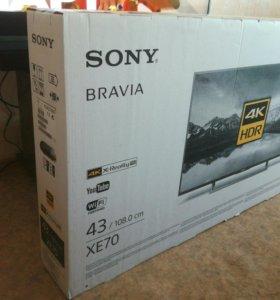Новые Sony KD-43XE7096 Ultra HD 4K Smart TV