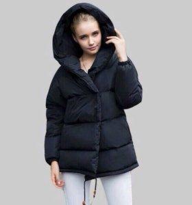 Куртка пуховик-зефирка новая