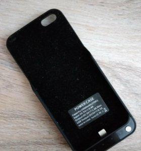 Чехол-зарядка на IPhone 5S