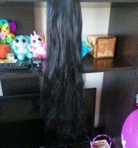 Волосы накладные хвост