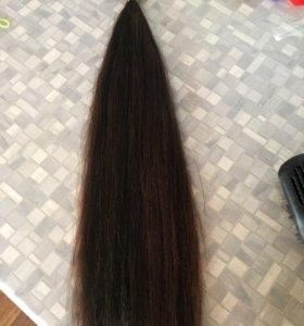 Волосы густые