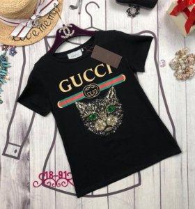 ХИТ Футболка Gucci Mystic Cat 🐯