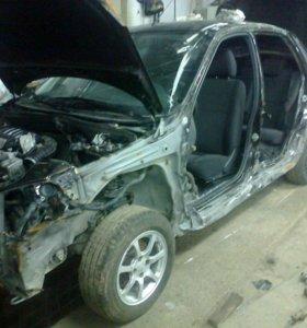 Покрасочно--кузовной ремонт........
