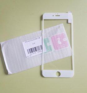 3D Защитное стекло на iPhone 6s Plus