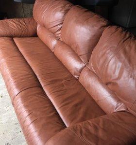 Кожаные кресла для дачи и отдыха