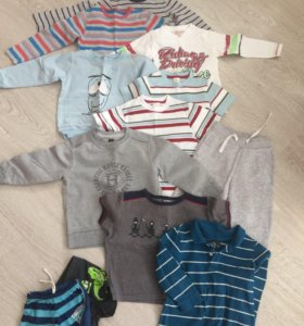 Пакет одежды р.92-98