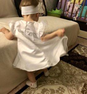 Платье(шили на заказ)Повязка в 🎁