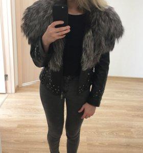 Куртка с чернобуркой